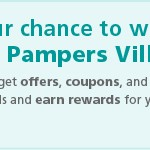 Join Pampers and enter to win a year's supply of diapers
