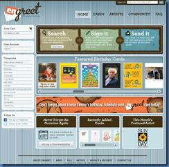 enGreet Homepage 030810