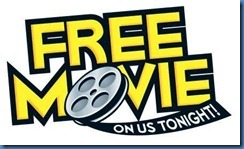 free movie on us tonight!  image