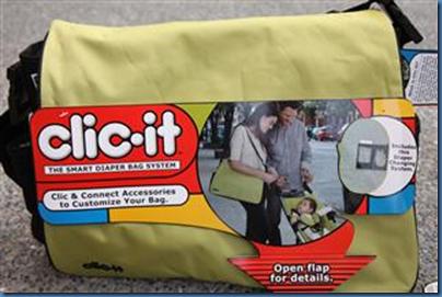 Clic It Diaper Bag