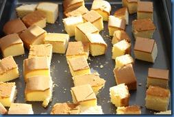 pound cake squares