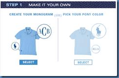 Choose your shirt