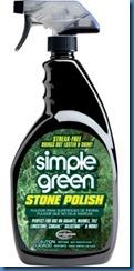 Simple Green Stone Polish