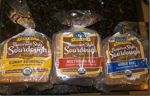 Manna Organics Bread