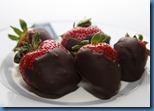 Chocolate Covered Ganache Strawberries