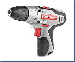 Craftsman 12 volt drill
