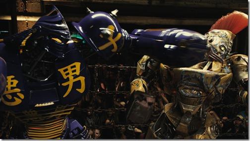 Real Steel Robots Fighting