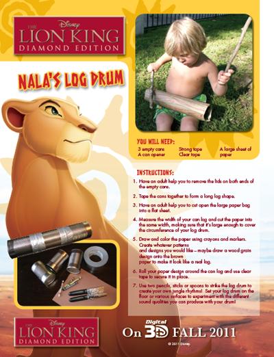 Nala's Log Drum