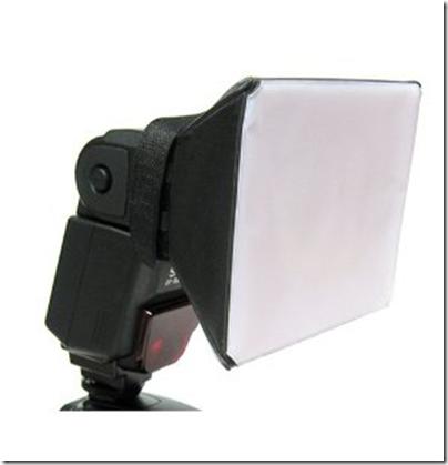 Soft Box Flash Diffuser for Canon EOS
