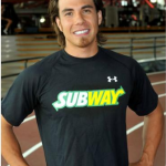 Apolo Anton Ohno Trades in His Skates with Subway