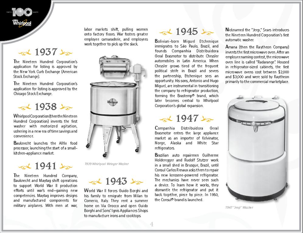Whirlpool Celebrates 100th Anniversary Fun Facts Momstart