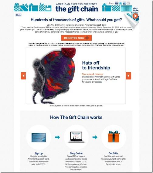 Amex Gift Chain