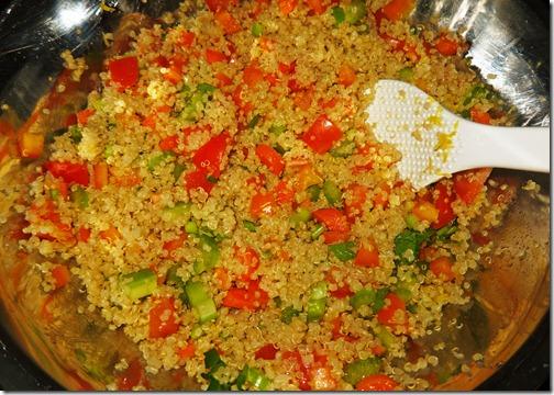 veggie quinoa large