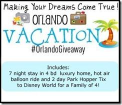 Orlando giveaway