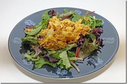 curry chicken frittata