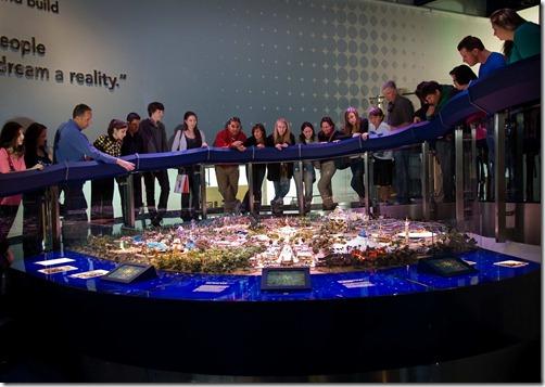 Gallery 9 - Disneyland Model