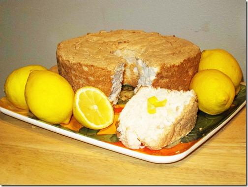 Halo lemon Cake