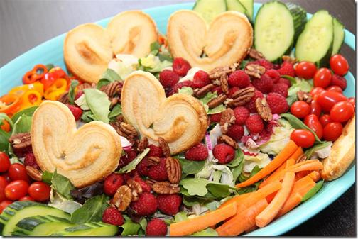 A Spring Bunny Ear Salad