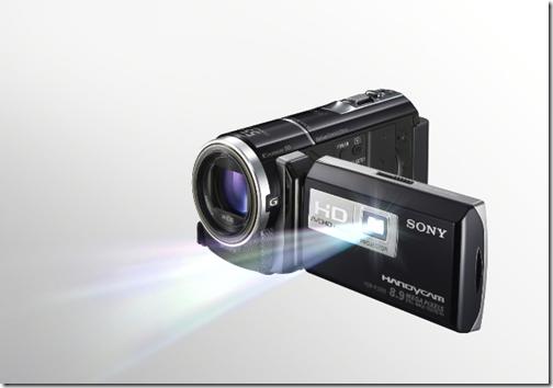 16GB Sony Handycam PJ260V projector