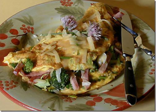 Ham and Chives Omelet #Recipe #TeflonEggParty — MomStart