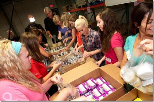 ConAgra Foods Foundation Hunger-Free Summer Kick Off
