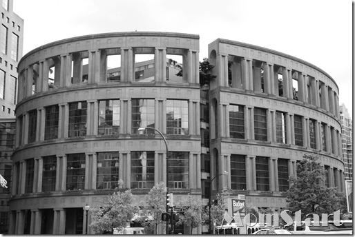 Modern Roman Architecture Vancouver Canada
