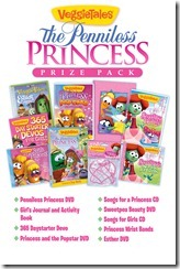 VeggieTales The Penniless Princess - BIG Prize Pack