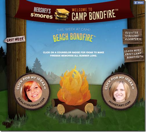 FB Camp Bondfire