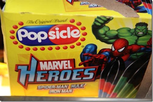 Marvel Popsicle