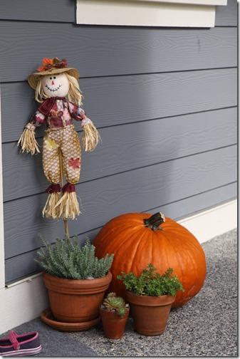Pumpkin Porch Decorations