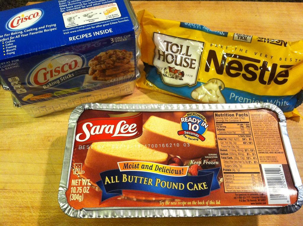 Ingredients In Sara Lee Pound Cake
