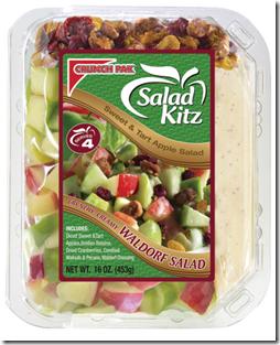 crunch pak waldorf salad kitz