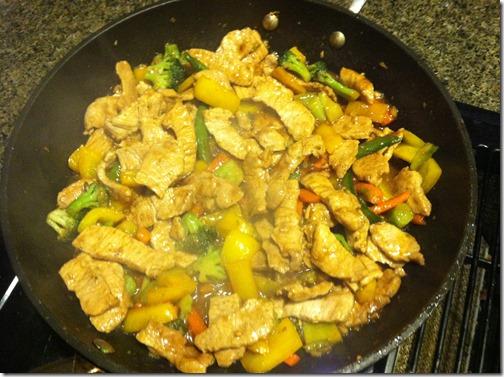 Cooking Stir Fry
