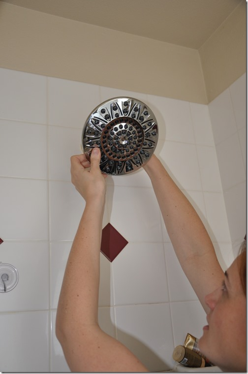 DIY Shower Head Change: Waterpik Rainfall + Showerhead
