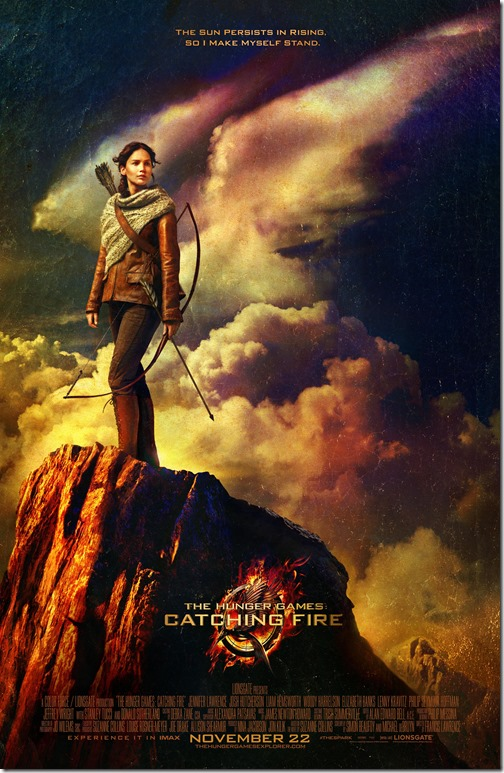 The Girl on Fire Katniss Everdeen Movie Poster