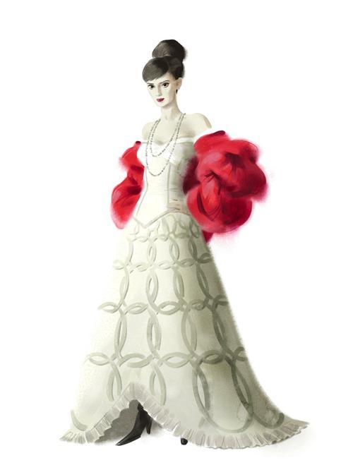 Theodora_Evening_Dress_Costume_Illustration