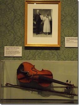 irma cody's violin