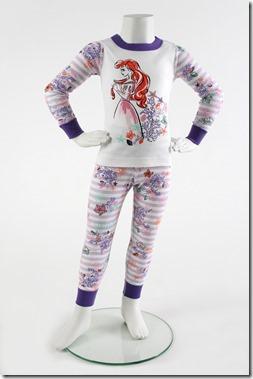 Ariel Long John Pajamas