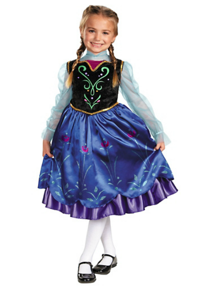 disneys frozen anna deluxe costume - Halloween Anna Costume
