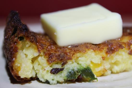 Cornbread Closeup