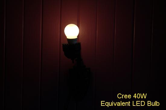 Cree 40W Equivalent LED Bulb
