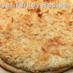 Good Cook Leftover Turkey Recipe: Poppy Seed Turkey Pizza