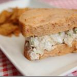 Leftover Turkey Avocado Salad Sandwich Recipe #GoodCook
