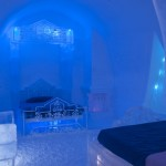 The Frozen Suite At Hôtel de Glace The Ice Castle in Quebec