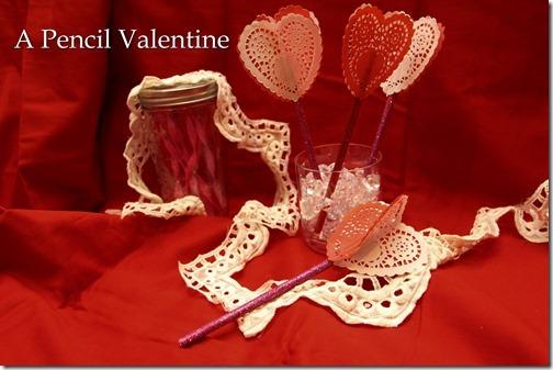 A Pencil Valentine