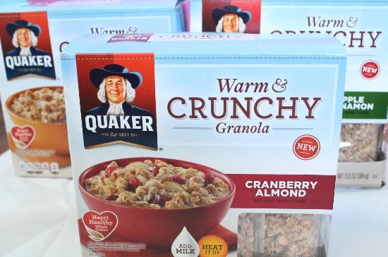 Quaker Warm and Crunchy Granola