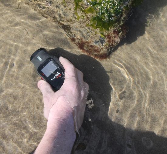 VIRB Action Camera underwater