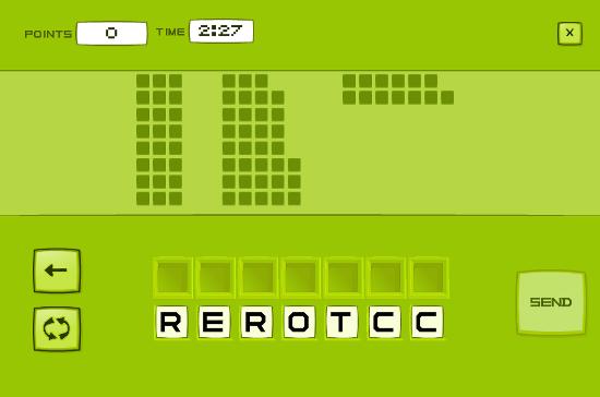 Letroca gameplay
