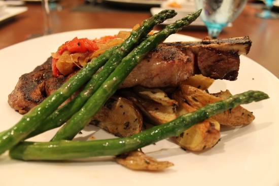 Delicious steak!