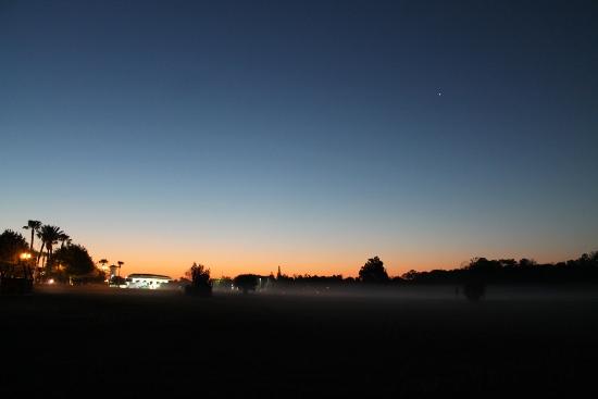 Orlando at dusk